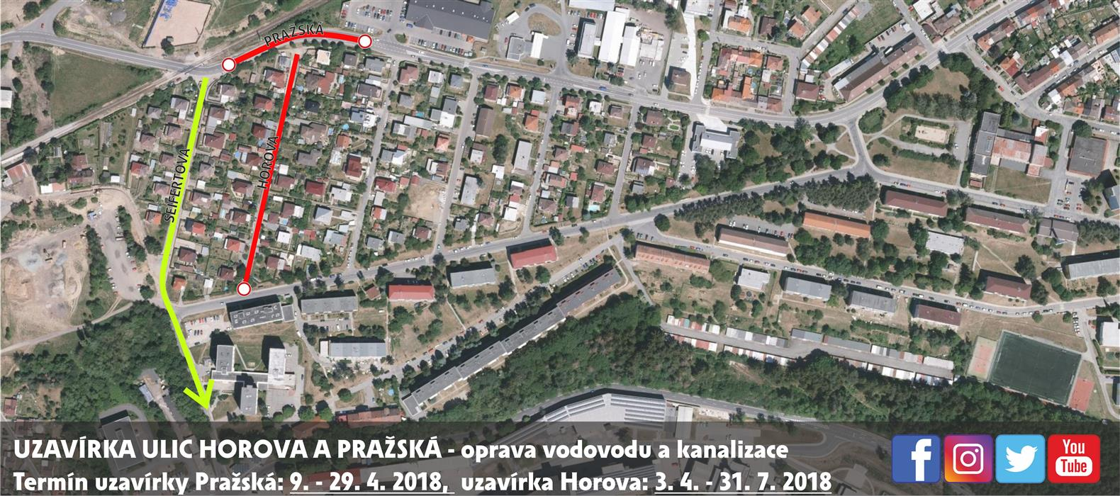 Horova, Pražská